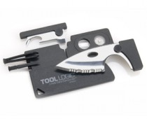 Credi Card Sized Toolkit with Knife