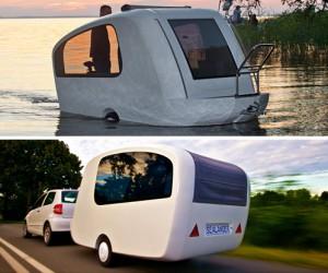 Sealander-Amphibious Camping Trailer