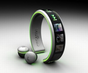 Wearable MP3 Player Creative