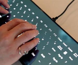 Cool Leaf Keyboard The Touch Screen Keyboard