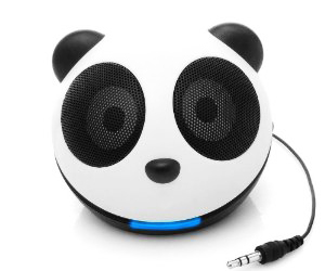 GOgroove Panda Pal Portable Mini Speaker System