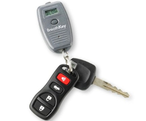 Keychain Breathalyzer - World's Smallest Breath Alcohol Tester