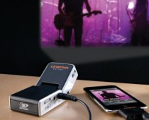 Portable iPhone Projector