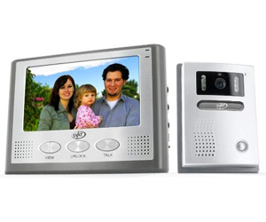 SVAT 2-Wire Color Video Intercom System with 7 LCD Monitor and Night Vision Security Camera