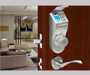 iTouchless Stainless Steel Bio-Matic Fingerprint Deadbolt Door Lock