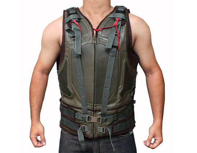 Bane military vest  sc 1 st  Want-That.com & The Full Bane Costume: Bane mask w. voice changer tactical vest ...