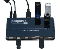 Plugable USB 2.0 10 Port Hub