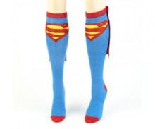 Supergirl Cape Socks - Comics Socks