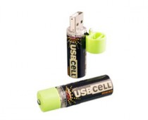 USB Rechargable AA Battery