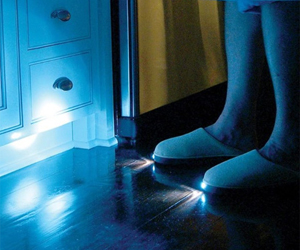 ec48115c8f8 Bright Feet Lighted Slippers