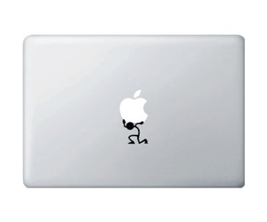 Geeky MacBook Stickers
