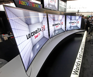 LG EA9800 - the First OLED TV with Curved Display