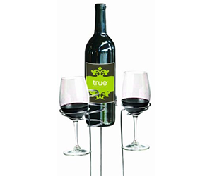 True Fabrications Picnic Stix Set - Picnic Wine Glass Holders