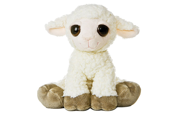 Aurora Plush Dreamy Eyes Lamb - the perfect gift for a kid
