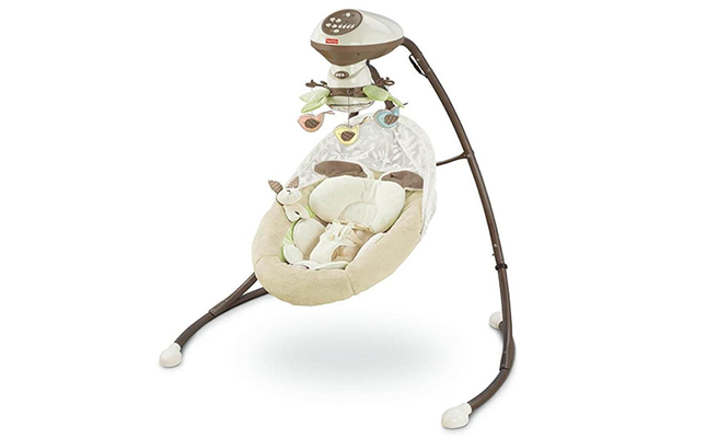 Fisher-Price Cradle 'N Swing-1