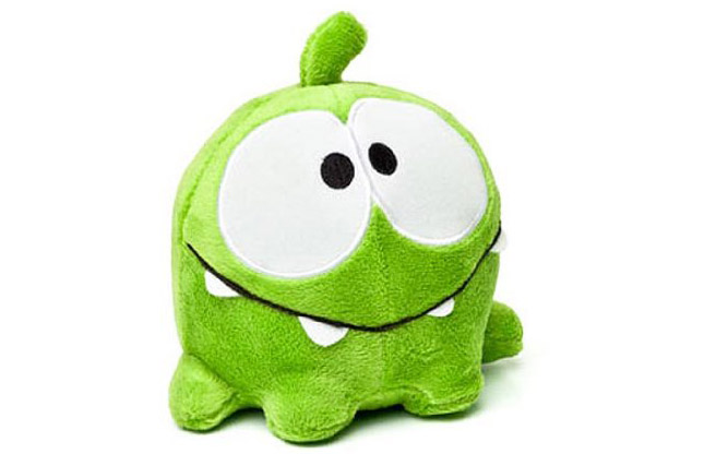 Happy Om Nom Plush Toy