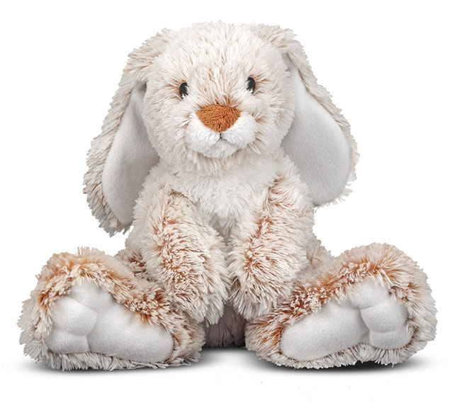 Melissa & Doug Princess Plush Bunny