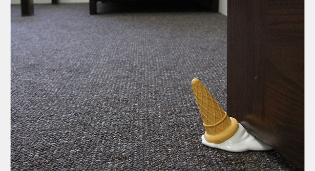 Melting Ice Cream Door Stopper-2