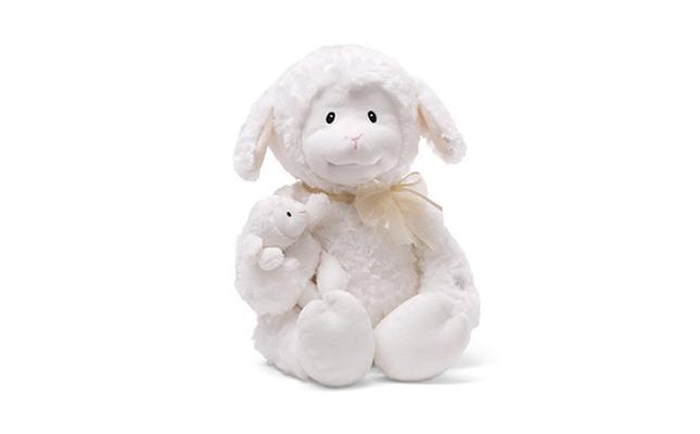 Plush Baby Lamb