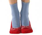 Red Ruby Slipper Socks