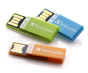 Verbatim Clip-IT 4GB Flash Drive