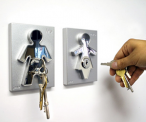 Couple Human Key Holders