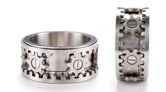 Cog Gear Ring Uk