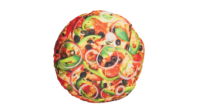 Buy DCI Yummy Pizza Pillow on Amazon