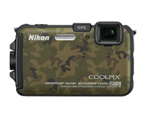 Nikon COOLPIX AW100 16MP CMOS Waterproof Digital Camera