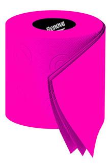 Renova Pink Toilet Paper