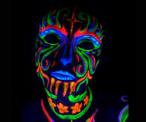 Buy Black Light Reactive Neon Make-Up on Amazon