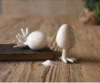 Buy Eggs with Feet Salt & Pepper Set on Amazon