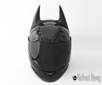 DARK as NIGHT helmet Black edition