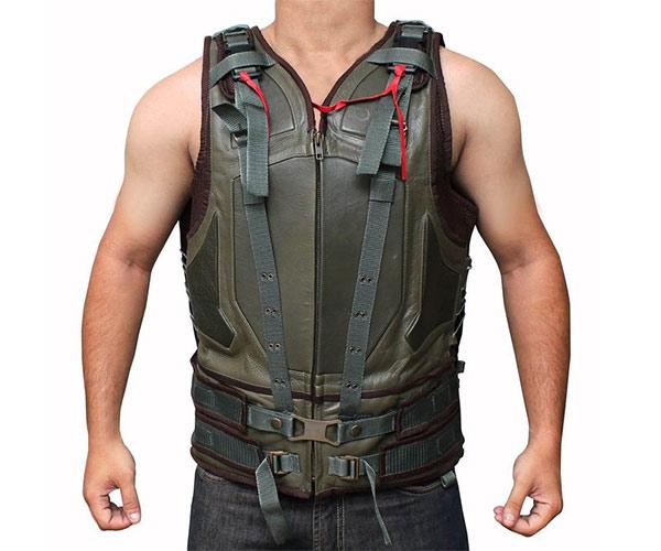 Bane Leather Vest