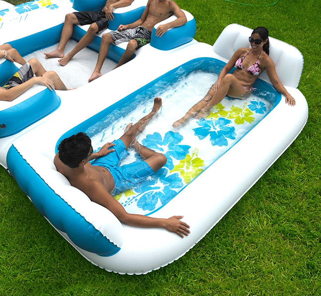 Buy the Giant Inflatable Floating Island on Amazon