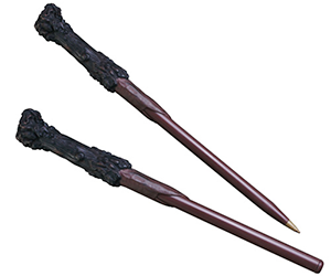 Wand Len harry potter magic wand pen and bookmark set