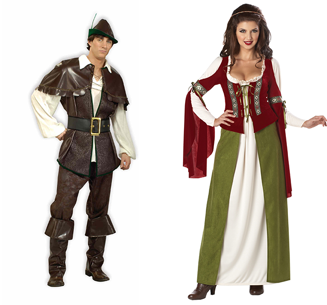 Robin Hood and Maid Marian Costumes