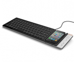 Omnio PC Keyboard with iPhone Dock