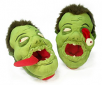 Zombies Afoot Plush Slippers