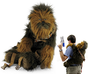 star wars deluxe chewbacca backpack