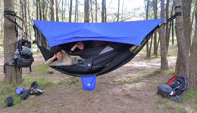 Revolutionary Hammock Bliss Sky Hanging Tent