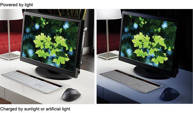 Logitech Wireless Solar Keyboard for Mac