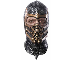 Mortal Kombat Scorpion Overhead Mask For Halloween Party