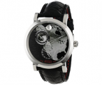 Movado Red Label Planisphere Wristwatch