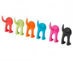 Party-colored Ikea Dog Tail Hangers