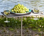 Portable Picnic Wine Table