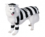 Prisoner Dog Pet Costume