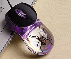 Glow in the Dark Spider Computer Mouse