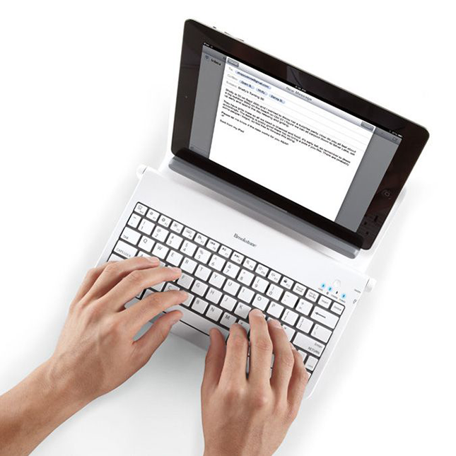 Tablet Station with Bluetooth Keyboard