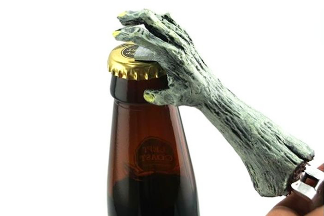 The Zombie Hand Bottle Opener